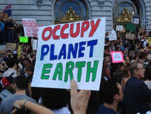 occupy planet earth