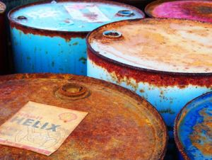 oil barrels