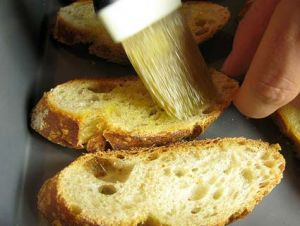 olive oil, bread