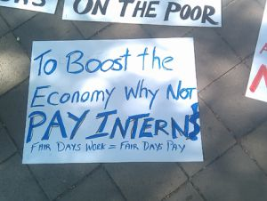 #OccupyDC sign