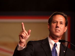 ... Santorum had a nice little moment when he said that if his son were gay, ...