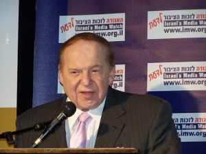 Casino mogul Sheldon Adelson