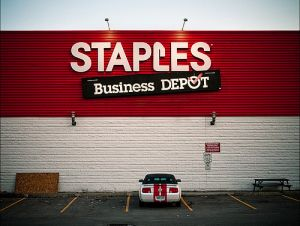 Staples store