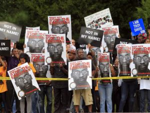 troy davis protest