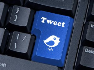 tweet button keyboard
