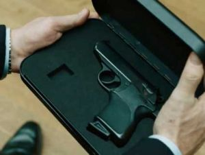 James Bond Biometric gun