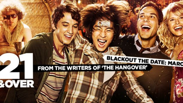 21 and Over film movie poster