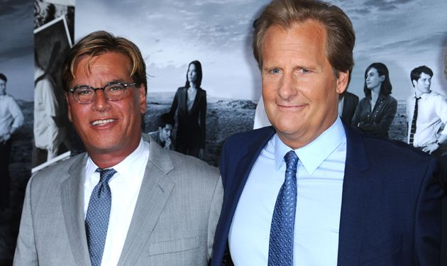 Aaron Sorkin and Jeff Daniels