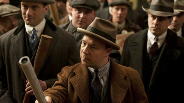 Al Capone in Boardwalk Empire on HBO