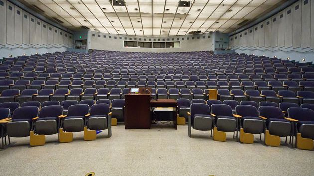 lecture hall, berkeley