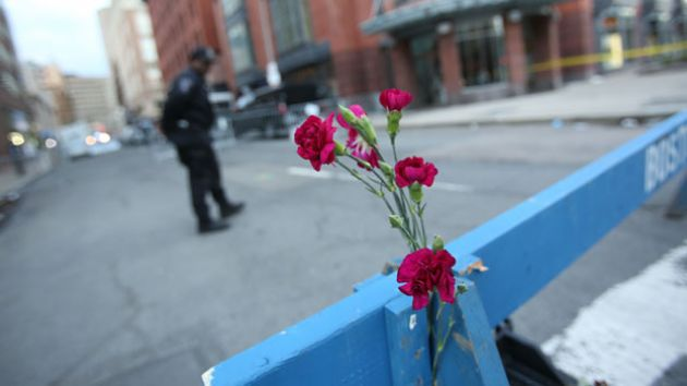 boston mourning flowers