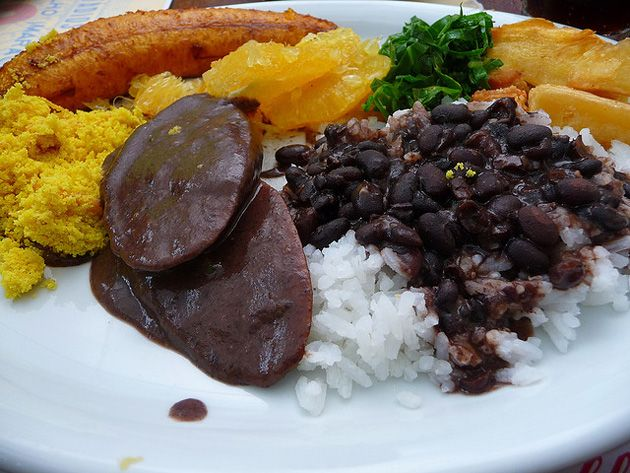 Something to protect: a plate featuring feijoada, a classic Brazilian black bean