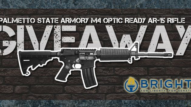 Lee Bright gun giveaway
