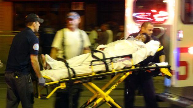 gunshot victim