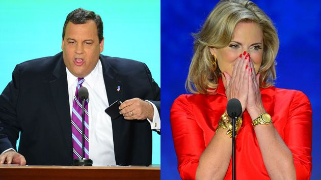 Chris Christie and Ann Romney