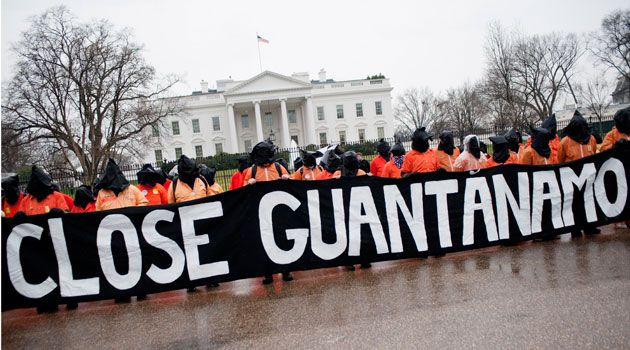close gitmo protest