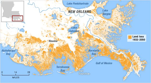 Louisiana To Big Oil What Did You Do To Our Coastline