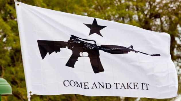 come and take it flag gun