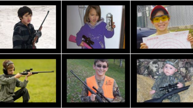 PHOTOS: Here's how the rifle that just killed a 2-year-old girl is marketed for kids