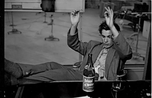 Classical piano virtuoso Glenn Gould, April 1957.