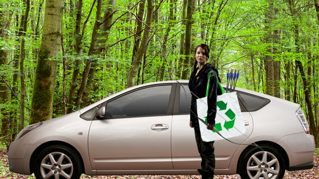 Environmentally friendly Katniss