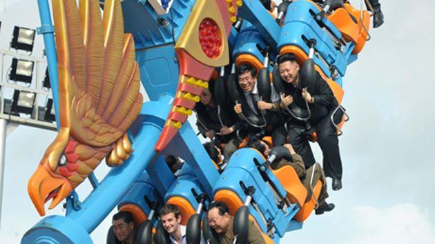 Kim Jong-un monta en una montaña rusa con un diplomático británico Kim-jong-un_1