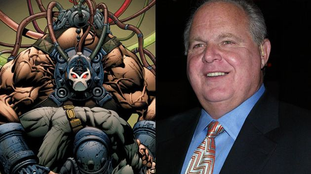 Rush Limbaugh and Bane