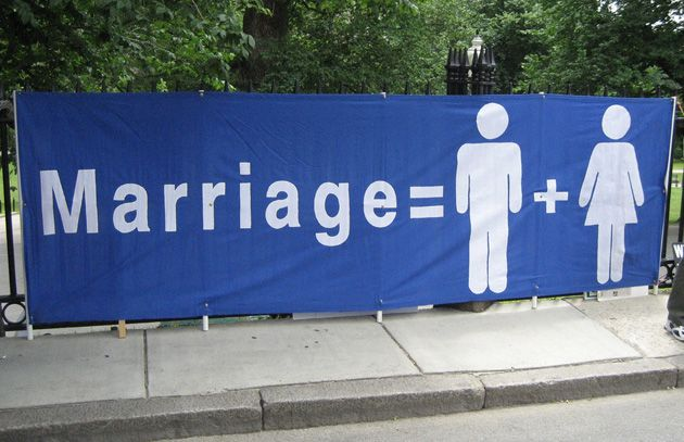 from Ellis gay marriage between a man and a woman