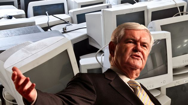 Newt gingrich computers
