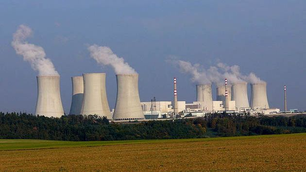 Nuclear power plant Dukovany, Czech Republic.