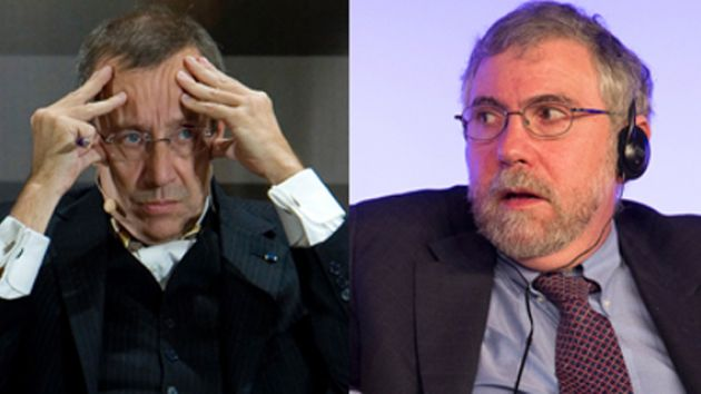 Toomas Hendrik Ilves and Paul Krugman