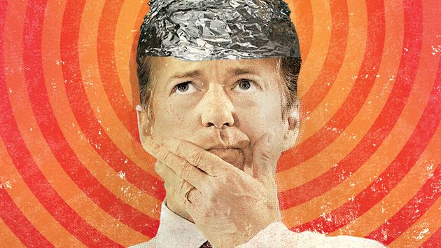Rand Paul tinfoil hat