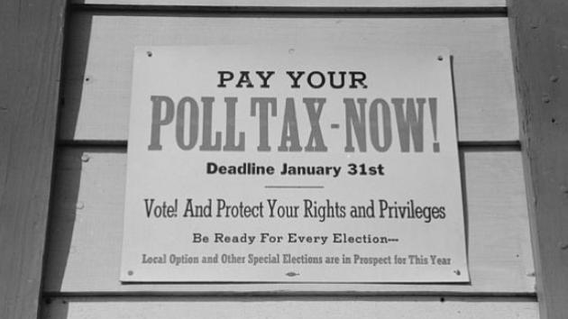 texas poll tax