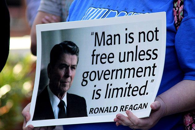 reagan tea party