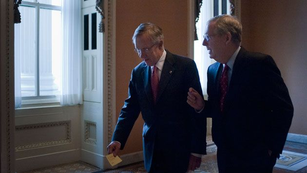harry reid and mitch mcconnell zuma