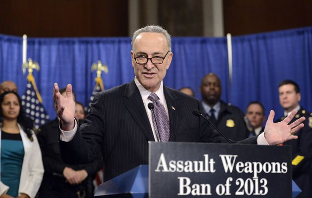 Chuck Schumer Wants to Stop You From Printing a Gun at Home. Good Luck.