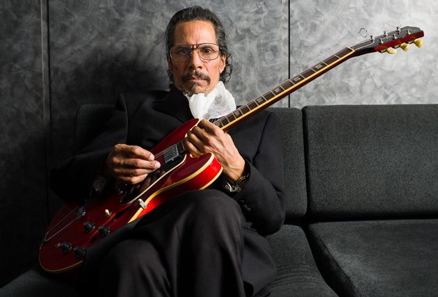 Shuggie Otis on sofa