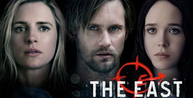 Brit Marling Alexander Skarsgard and Ellen Page in The East