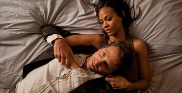 the words bradley cooper zoe saldana