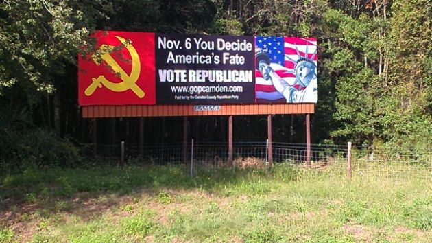 Camden County Georgia GOP Billboard