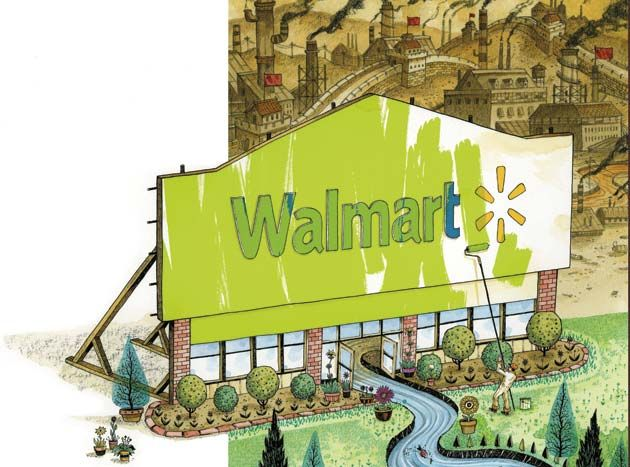 Walmart greenwashing