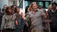 Greg Nicotero coaches some zombies