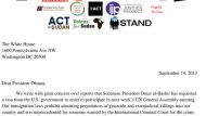 George Clooney and Don Cheadle's letter to Obama about genocide Darfur