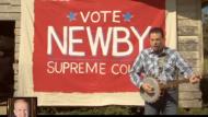 A screenshot of Paul Newbie TV ad
