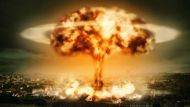 mushroom cloud over a city