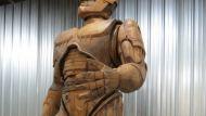 RoboCop statue Detroit