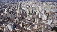 A view of Sao Paulo, Brazil.