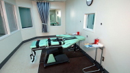 A lethal injection room