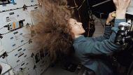 Marsha Ivins on Space Shuttle Columbia, 1997