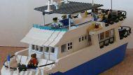 yacht legos boat
